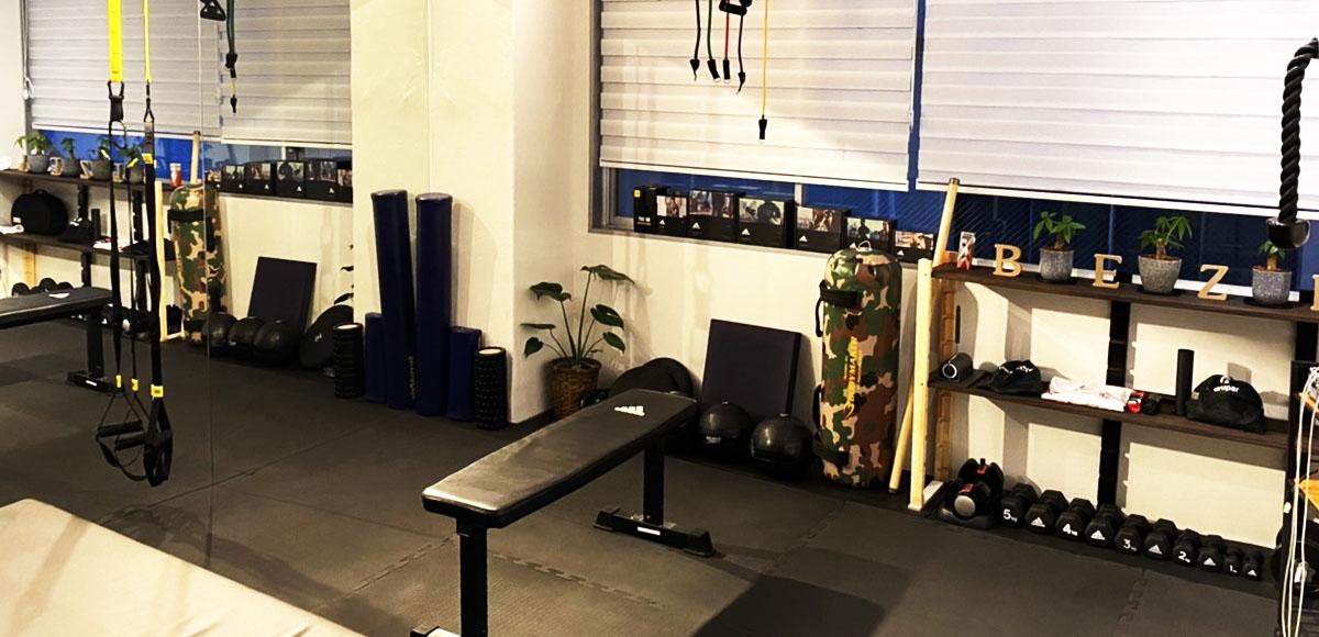 body studio BEZEL 大分店 スタジオ風景
